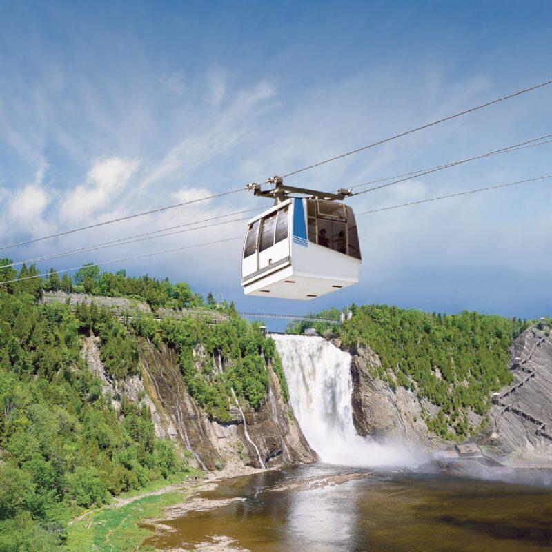 Découverte des chutes Montmorency
